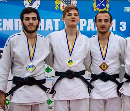 Дзюдоїст з Ужгорода виборов титул Чемпіона України