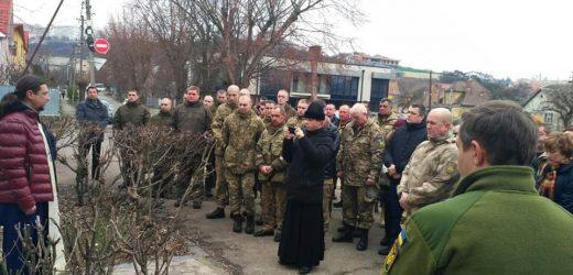 В Ужгороді вшанували воїнів полеглих в боях за Дебальцеве (фото)