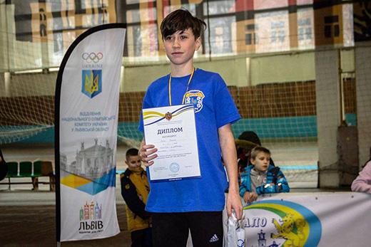 Юний ужгородець виборов золото на чемпіонаті з легкої атлетики