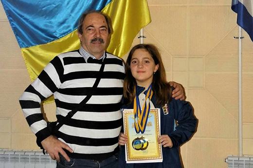 Закарпатська спортсменка стала чемпіонкою України з шашок