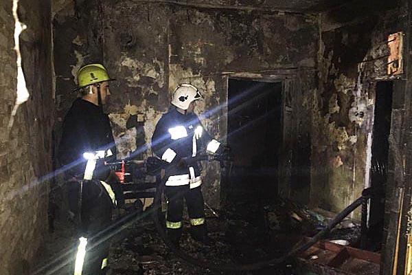 У Тячеві під час пожежі чоловік отримав опіки 80% тіла