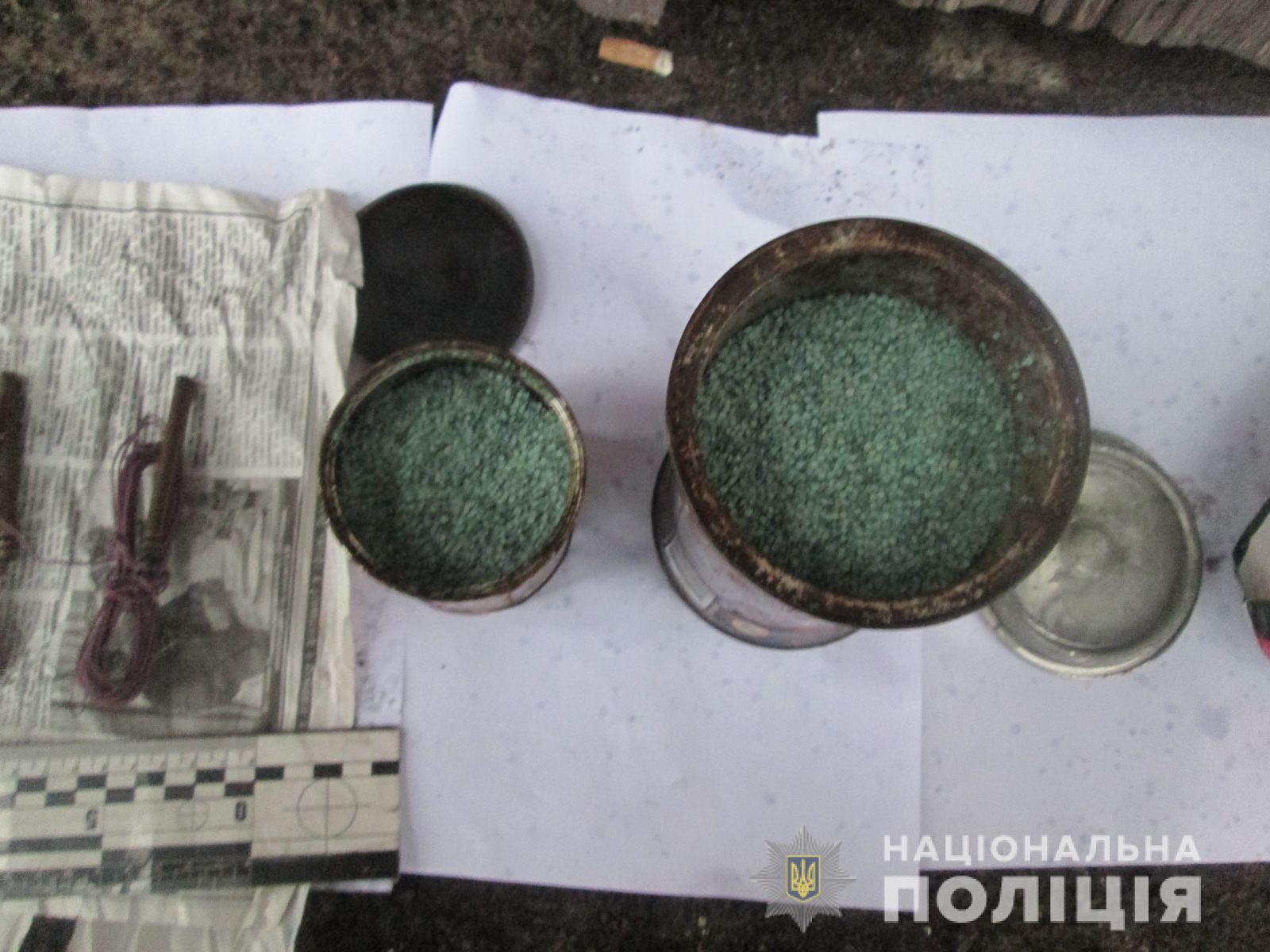 У Хусті на збуті вибухових речовин затримали мешканця Вишкова