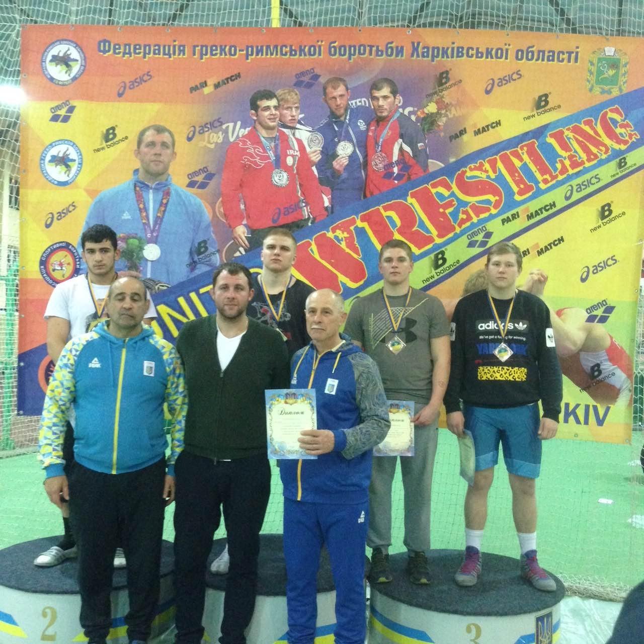 Закарпатці вибороли золото і срібло Чемпіонату України з греко-римської боротьби