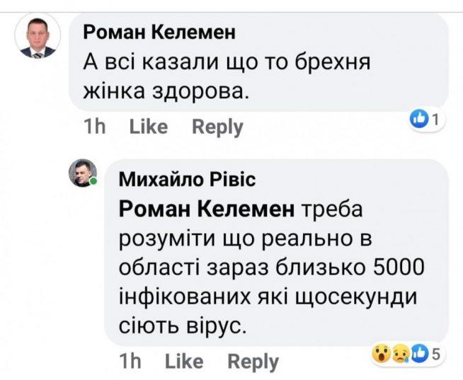 Голова Закарпатської облради припускає наявність 5000 інфікованих на COVID 19 в Закарпатській області