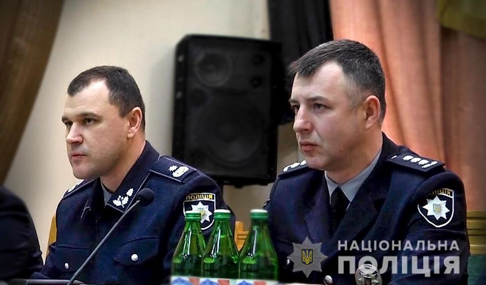Голова Національної поліції України Ігор Клименко представив нового керівника Закарпатської поліції