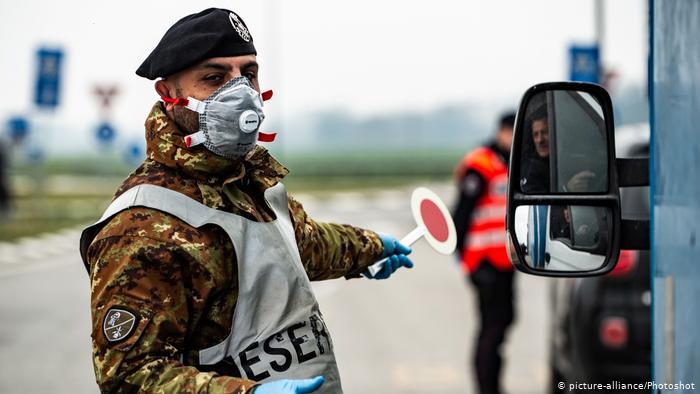 В Італії за добу від коронавірусу померло 439 осіб