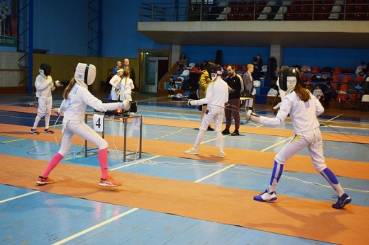 В Ужгороді проходить дитячий турнір з фехтування