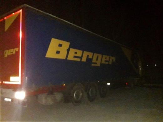 Розшукуваний Інтерполом причіп до вантажівки виявили прикордонники Чопського загону у пункті пропуску «Тиса»