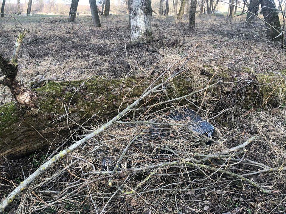 """Поблизу кордону з Румунією закарпатські прикордонники знайшли """"нічийні"""" 1000 пачок цигарок"""