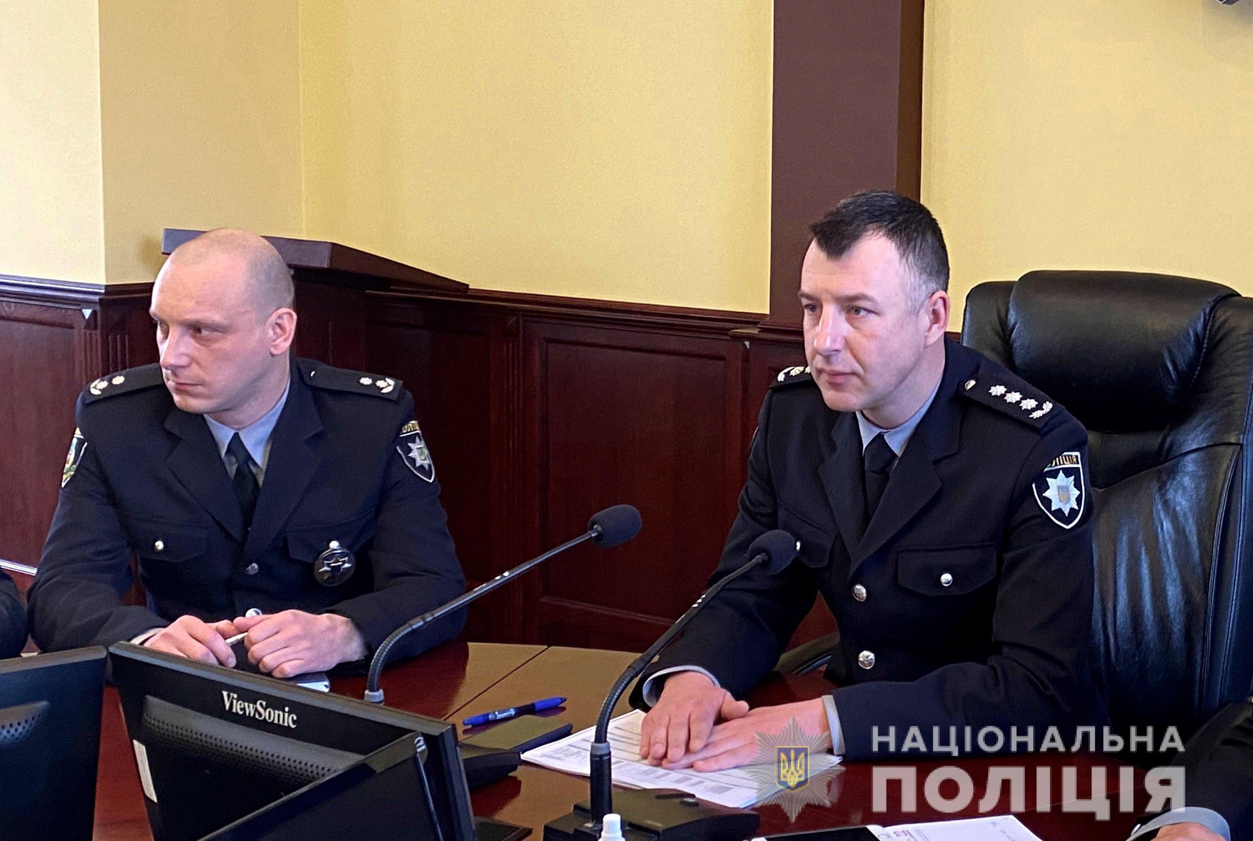 Очільник поліції Закарпаття представив своїх нових заступників