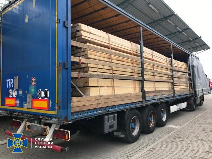 СБУ викрила та блокувала у Закарпатській області схему незаконного переправлення оптових партій деревини за кордон