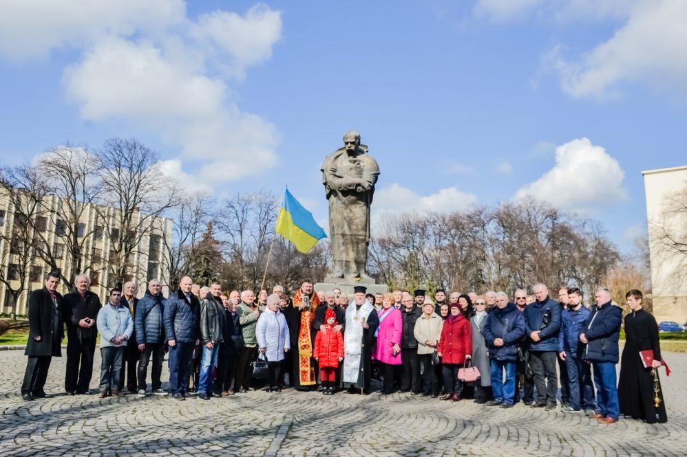 В Ужгороді духовенство та громадськість вшанували Тараса Шевченка (фото)
