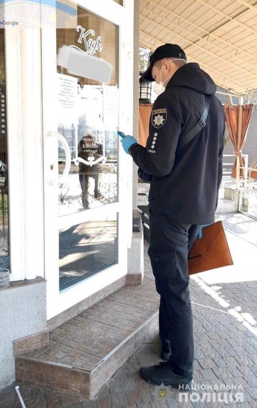Через ігнорування карантину в Ужгороді закрили заклад громадського харчування