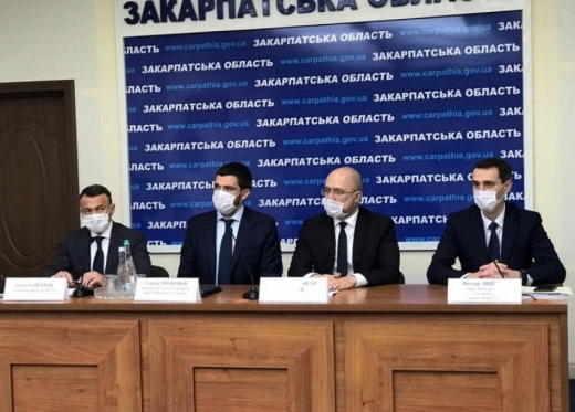 Закарпаття із робочим візитом відвідав прем'єр-міністр України Денис Шмигаль