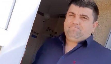 На Мукачівщині Великолучківський сільський голова пронує громадянам спілкуватися через вікно (відео)