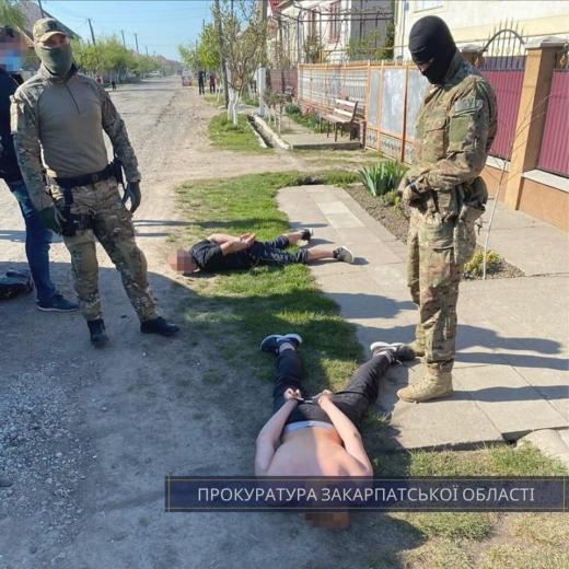 Правоохоронці викрили на Мукачівщині ще одну групу вимагачів