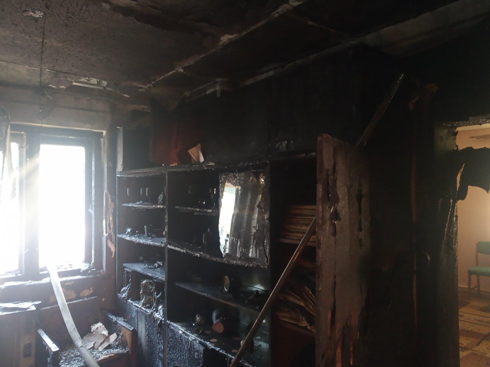 Під час пожежі у житловому будинку на Свалявщині загинув чоловік