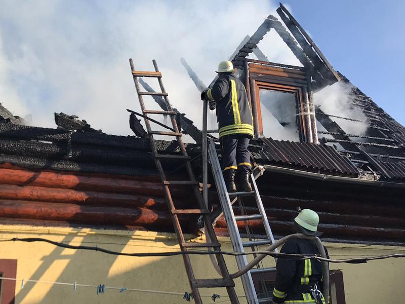 У Воловці під час випікання пасок сталася пожежа