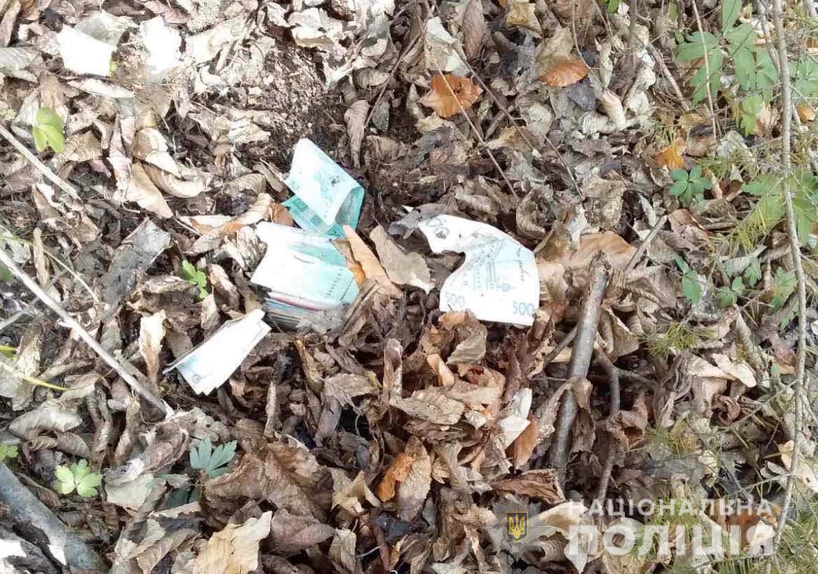 Двоє неповнолітніх злодіїв викрали гроші у магазині на Свалявщині і сховали їх у лісі
