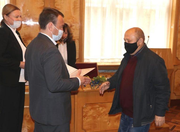 Голова Закарпатської ОДА подякував за роботу книговидавцям і привітав із прийдешнім професійним святом