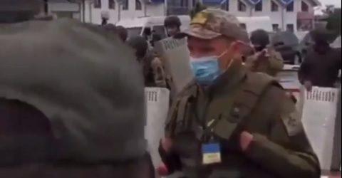 В пункті пропуску Чоп – Загонь сутички, голова Закарпатської ОДА пояснив причини конфлікту (відео)