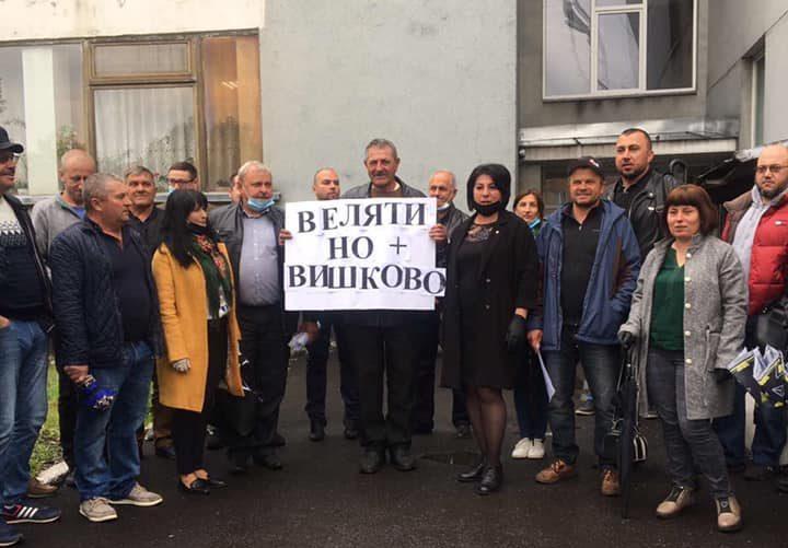 Вишково та Велятино категорично не хочуть приєднуватися до Хустської ОТГ /відео/