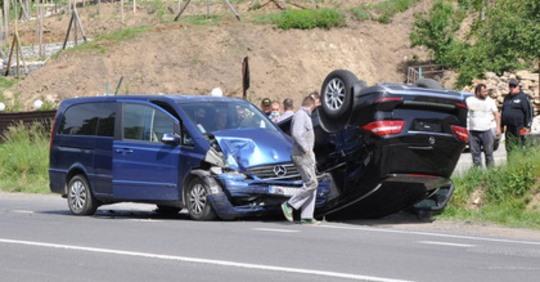 Два автомобілі не розминулися на об'їзній в Ужгороді