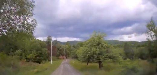 Мальовниче село Гута під Ужгородом (відео)