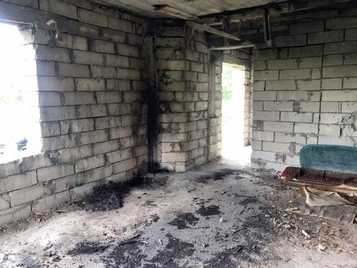 Безхатьки спричинили пожежу в новобудові на Ужгородщині