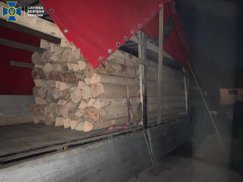 СБУ викрила на Закарпатті нелегальну схему вивезення деревини за кордон