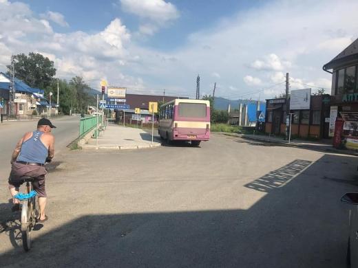 Попри заборону на Закарпатті курсував автобус міжобласного сполучення