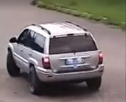 З'явилося відео джипа з якого в Мукачеві випустили автоматну чергу (відео)