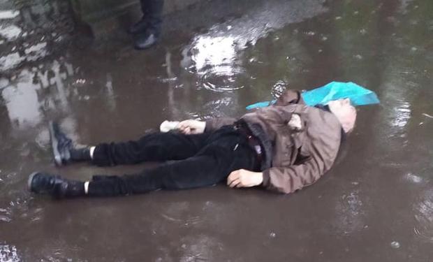 У Виноградові труп чоловіка кілька годин пролежав посеред вулиці