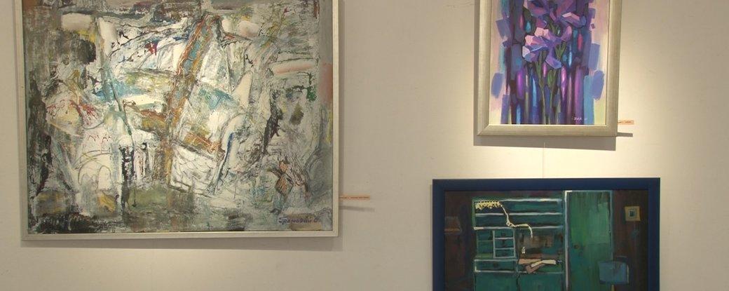 """Закарпатські митці презентували виставку картин """"Життя в карантині"""""""