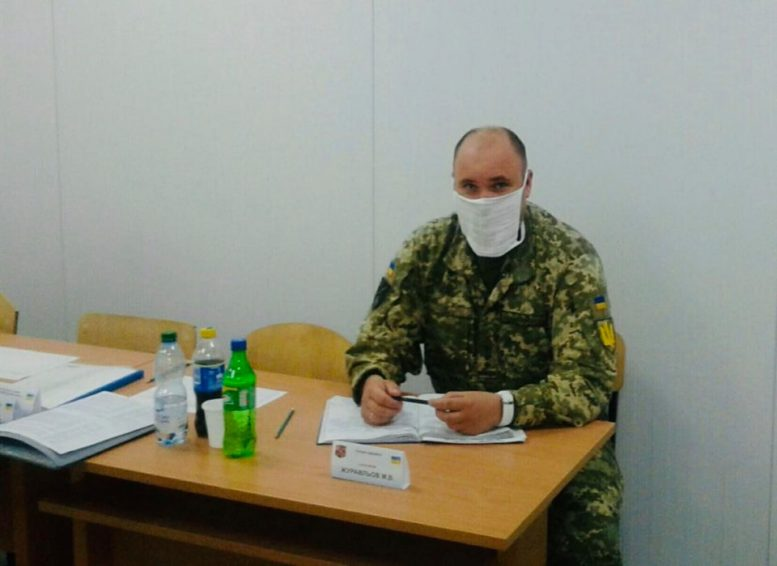 Полковник з Ужгорода очолив підкомісію ДЕК уНаціональній академії сухопутних військ