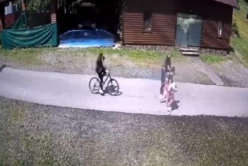 На Перечинщині у відпочинковому комплексі чоловік побив 12-річну дівчинку, яка наїхала на його сім'ю на велосипеді (ВІДЕО)