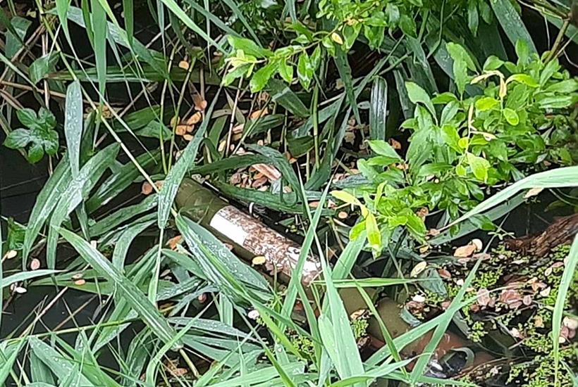 Поблизу місця чергової стрілянини в Мукачеві знайшли тубус від РПГ-22