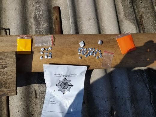 У жителя Рахова та його співмешканки поліція вилучила амфетамін та марихуану