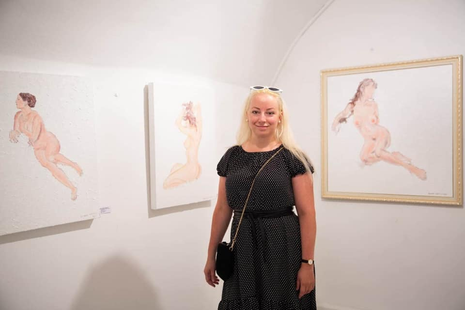 Ужгородка Рената Протасова презентувала свої картини в одній з найпрестижніших галерей Відня (фото)