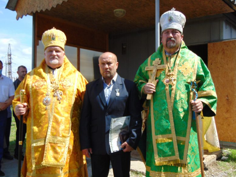 Чопський міський голова нагороджений однією із найвищих нагород Православної церкви України (відео)