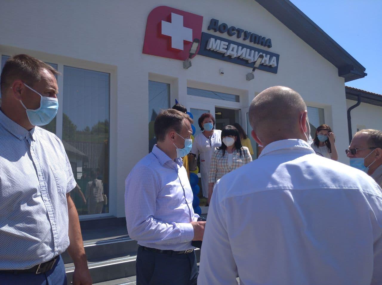 Три нові амбулаторії відкрили на Свалявщині (ВІДЕО)