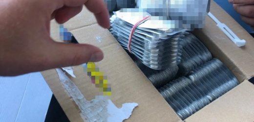 На Закарпатті співробітники СБУ блокували ввезення партії псевдоефедрину на понад 1 млн грн