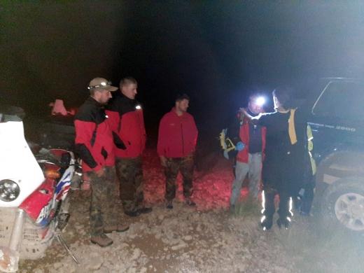 На Закарпатті рятувальники відшукали у горах травмованого туриста