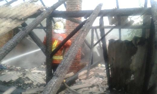В Малому Березному під час пожежі загинув чоловік