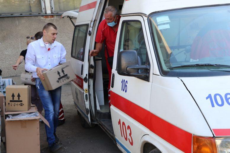 Обласна психіатрична лікарня у Вільшанах  отримала благодійний вантаж від «Благодійного фонду військової солідарності «Франція – Україна»