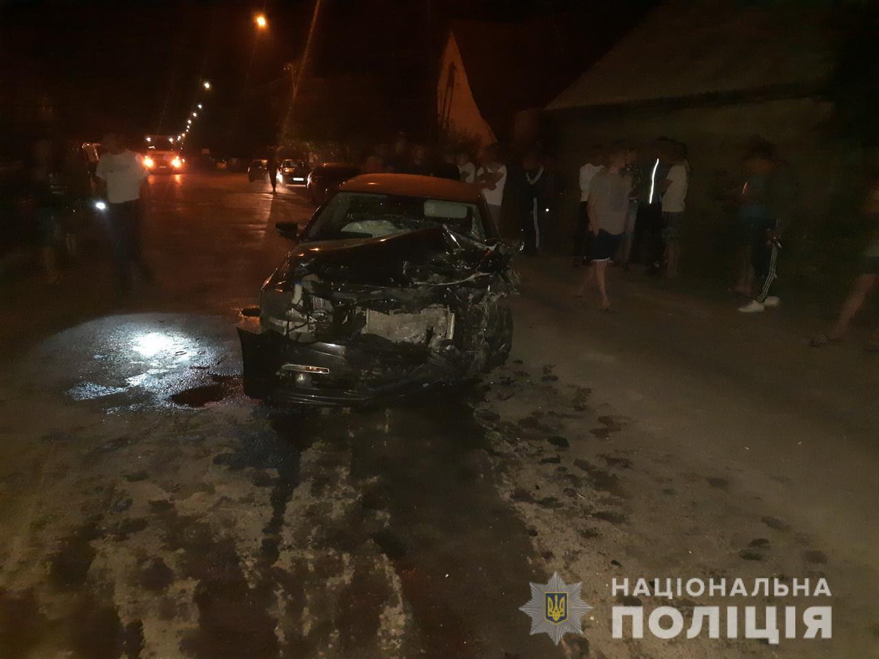 На Міжгірщині зіткнулися автомобілі – обидва водія були п'яні, троє пасажирок отримали травми