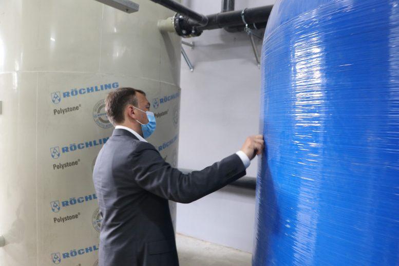 Чопський міський водозабір на підземних свердловинах запрацював у тестовому режимі (відео)
