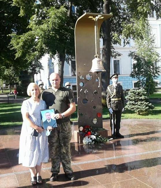 Дзвін Пам'яті нагадав про 5-ті роковини загибелі старшого лейтенанта Романа Галаса (фото)