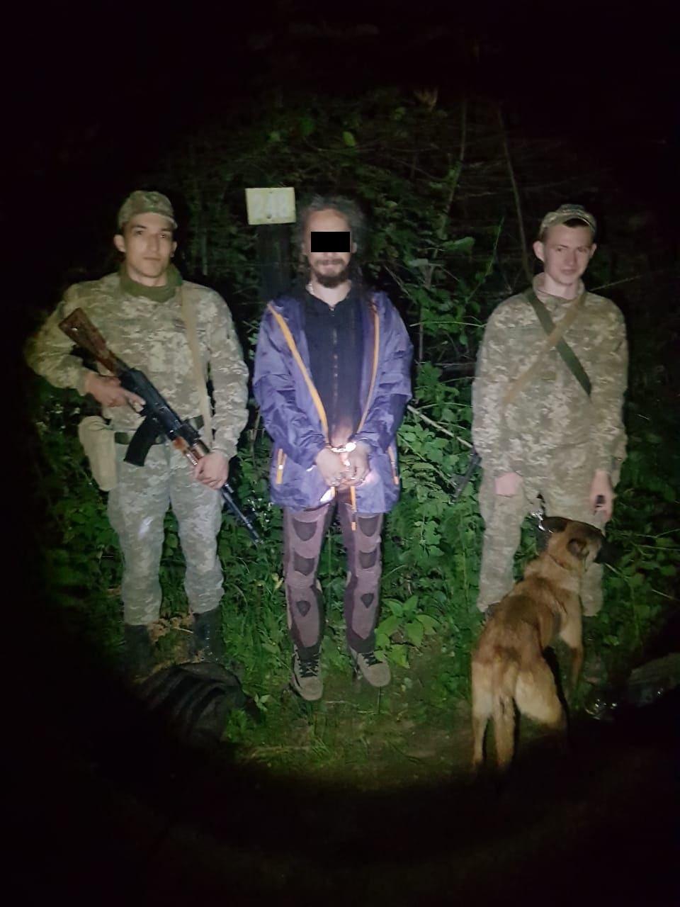 На Закарпатті затримали у лісі румуна, що намагався дістатися Німеччини