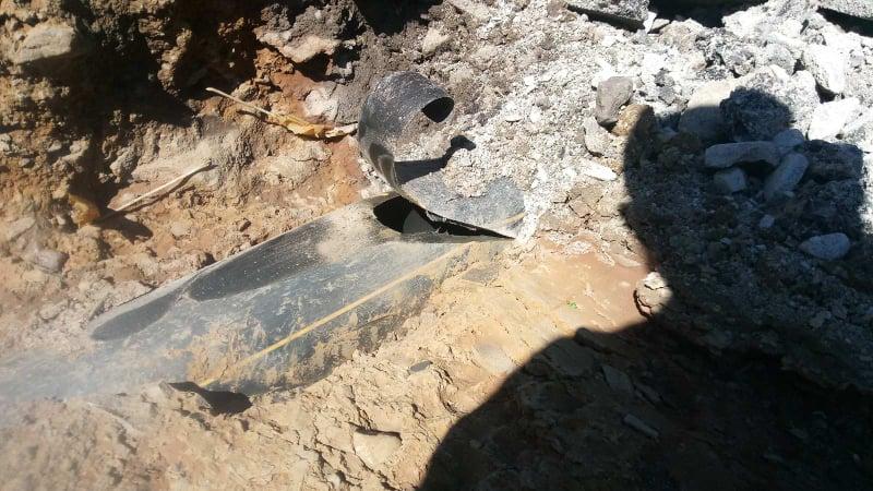 На Воловеччині під час ремонту дороги пошкодили газопровід